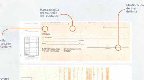 Cheque nico entrar en vigencia el 1 de enero for Solicitud de chequera